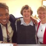 Sheila Triplet, Sister Betty Schuster, Sister Mary Alyce Koval
