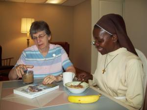 Sister Dorothy  Sister Rosemary Talk about Ursulines  world-wide