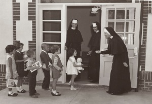 Sister Edith First Day of School